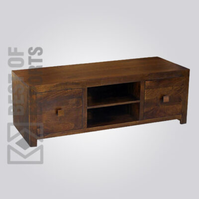 Solid Wood Media Console - 3