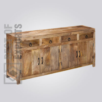 Four Doors and Drawers Sideboard