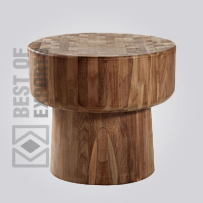 Solid Wooden Round Stool
