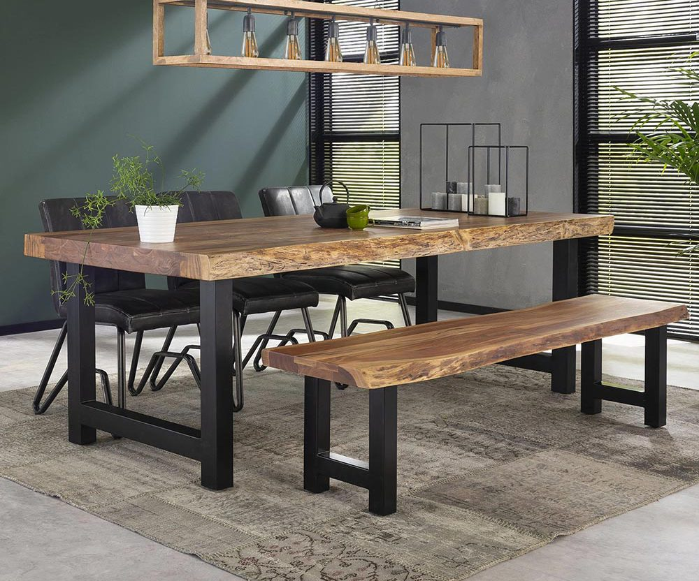 Live Edge Dining Table India