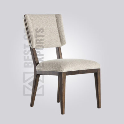 C Back Upholstered Dining Chair