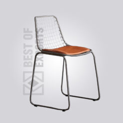 Metal Outdoor Wire Chair