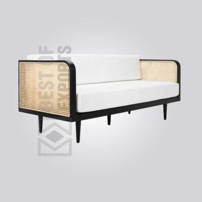 3 Seater Cane Sofa