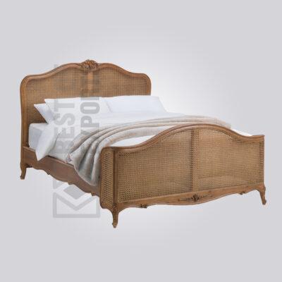 Antique Cane Bed