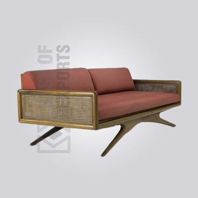 Antique Cane Sofa