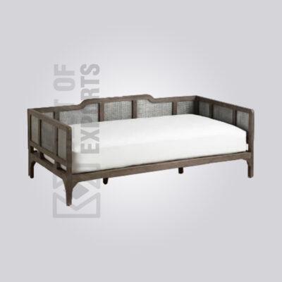 Black Cane Sofa