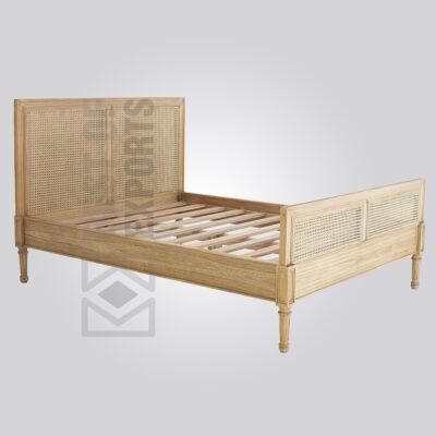 Cane Bed Frame