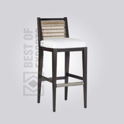 Cane Counter Height Stool
