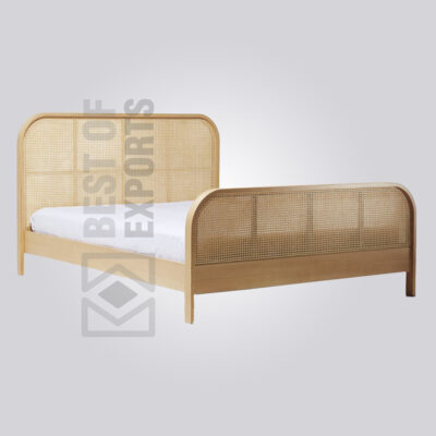 Cane King Bed
