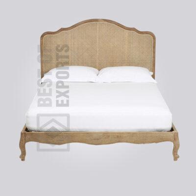 Cane Queen Bed