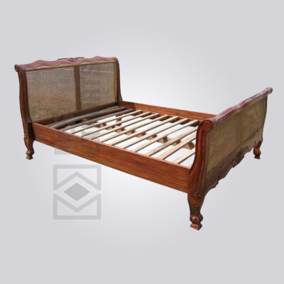 Cane Queen Bed Frame