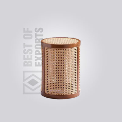 Cane Rattan Side Table