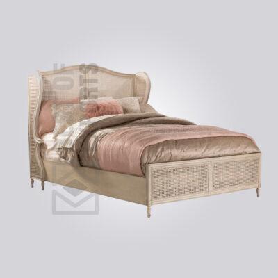 Cane Single Bed
