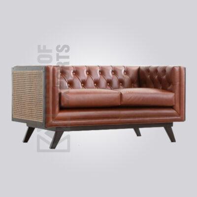 Cane Sofa Set - 2 Seater