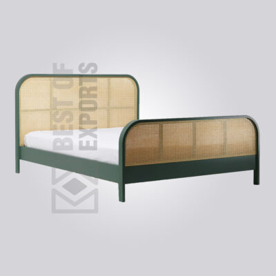 King Size Cane Bed