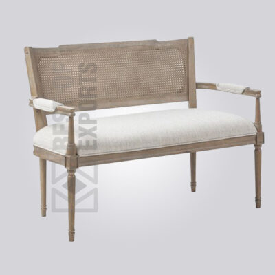 Luxury Cane Back Bench