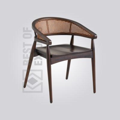 Modern Cane Armchair
