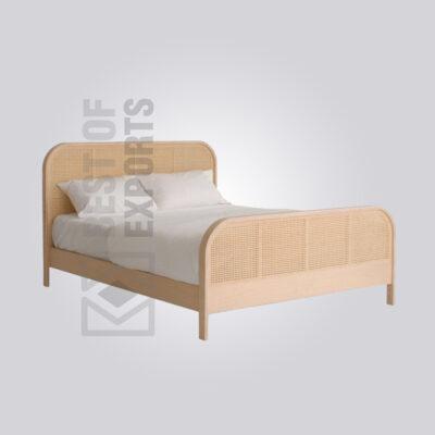 Modern Cane Bed