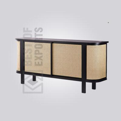 Premium Wooden Cane Cabinet