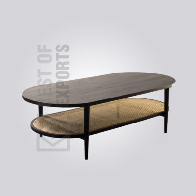 Rattan Coffee Table - Oval