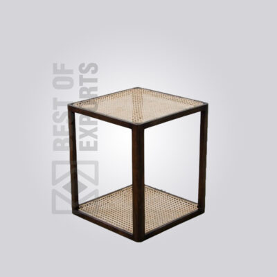 Small Cane Side Table