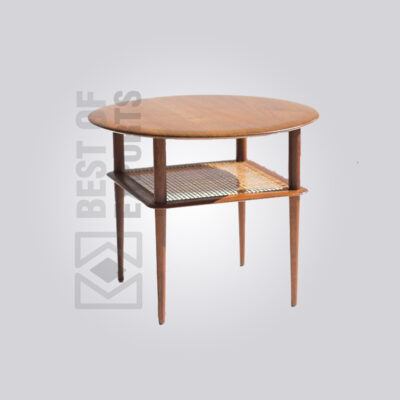 Vintage Cane Side Table