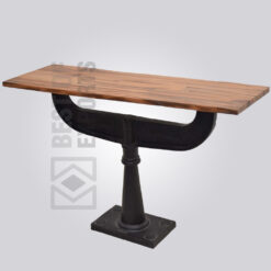 Cast Iron Pedestal Dining Table