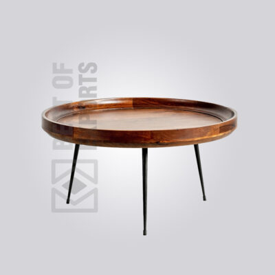 Classic Wooden Top Coffee Table