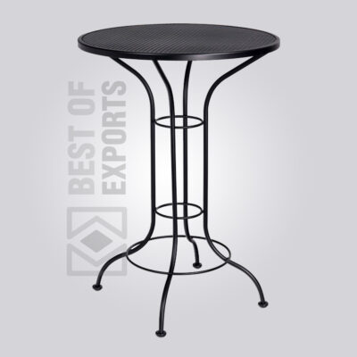 Industrial Bar Height Table