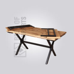 Industrial Extendable Dining Table