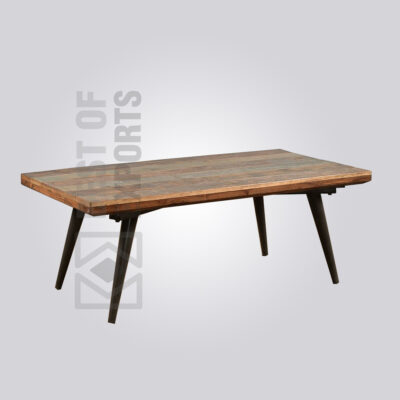 Reclaimed Wood Industrial Style Coffee Table
