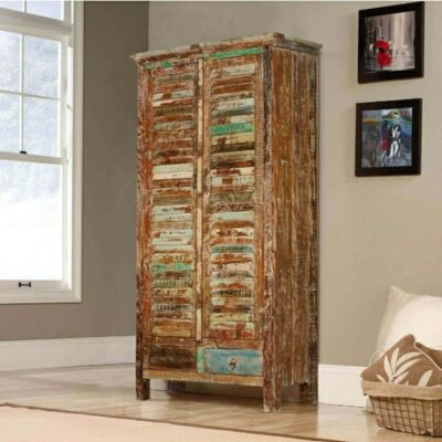 Reclaimed Wood Wardrobe