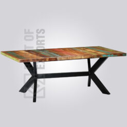 Rectangle Dining Table - Reclaimed Finish