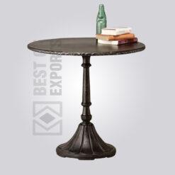 Vintage Industrial Pedestal Dining Table