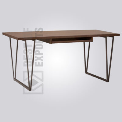 Classy Wood and Metal Desk