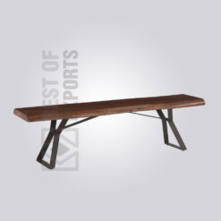 Contemporary Metal Bench