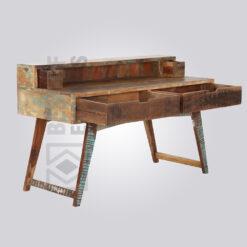 Flat Old Wood Working Desk