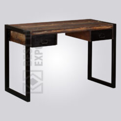 Industrial Drawer Study Table