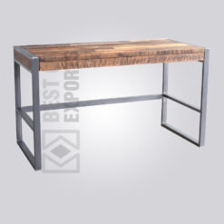 Industrial Old Wood Desk