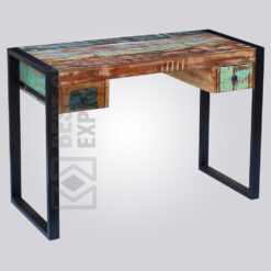 Industrial Recycled Wood Working Desk