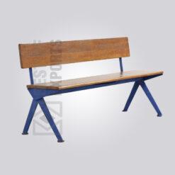 Inverted V Bench with Back support