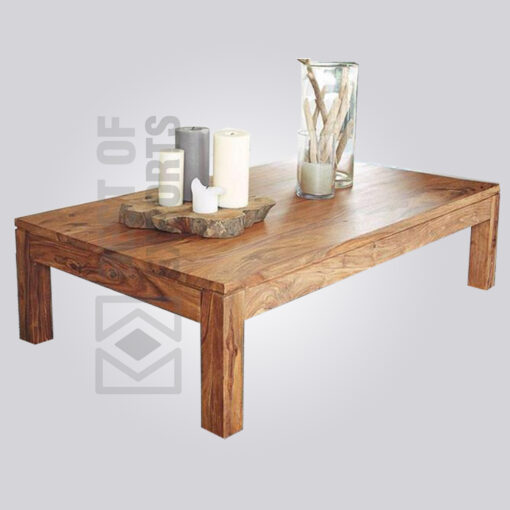 Plain Wooden Coffee Table