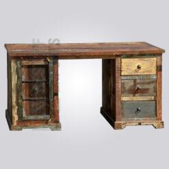 Reclaimed Wood Working Desk