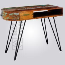 Reclaimed Working Desk Hairpin Leg