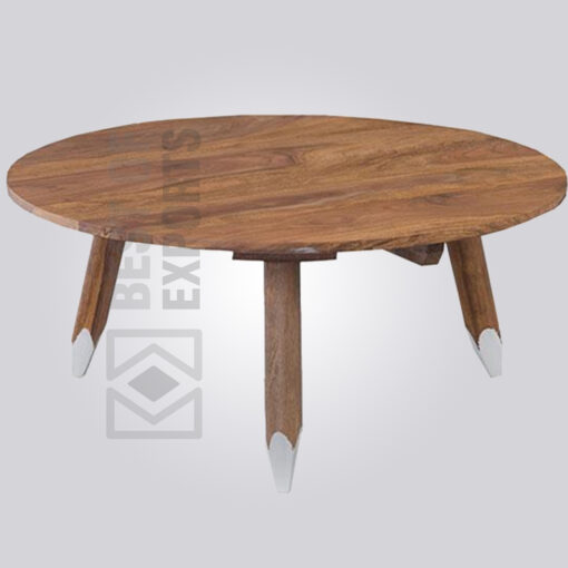 Round Pencil Coffee Table