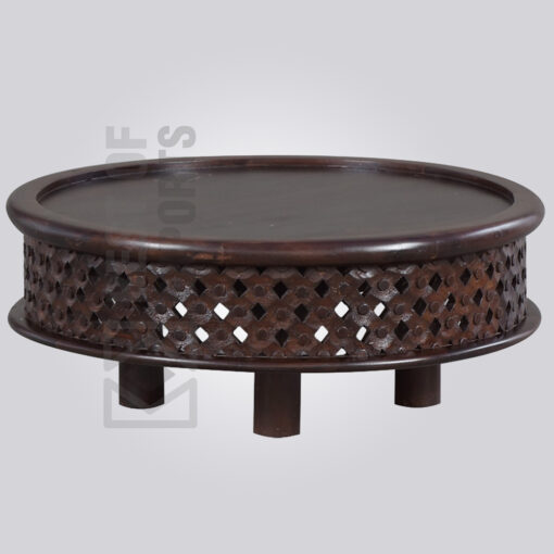Round Traditional Coffee Table